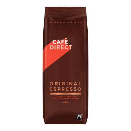 Cafédirect Espresso szemes kávé, 1 kg