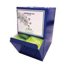 Hampstead Tea London BIO Chai zelený detoxikačný čaj s orientálnym korením 250 ks