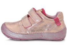 D-D-step Dívčí barefoot obuv 023-810B