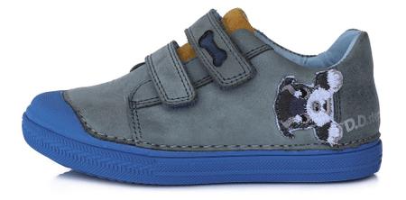 D-D-step buty chłopięce wiosenne 049-917 35 niebieskie