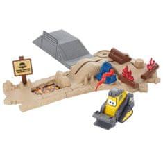 Mattel tűzképzés, Csepegtetőkészlet kotrógéppel