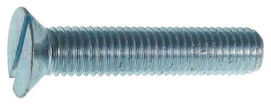 VKP STEEL DIN 963 M 5x60 4.8 ZN skrutka so zapustenou hlavou s plochou drážkou