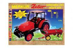 Merkur Stavebnice MERKUR Zetor základní set 646ks 3 vrstvy v krabici 36x27x8,5cm