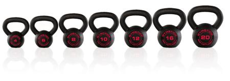 Gymstick Pro Kettlebell utež, 10 kg