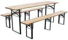 Portoss stol s klupom, 175/46 x 77 cm