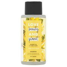 Love Beauty & Planet Suchy i zniszczony szampon do włosów z ylang-ylang i olejem kokosowym (Hope and Repair Shampoo)