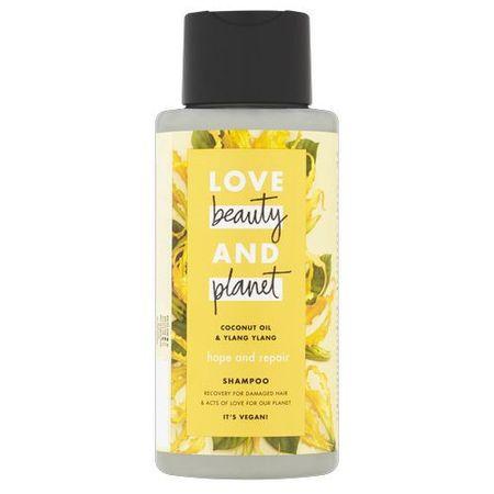 Love Beauty & Planet Hajápoló sampon száraz és sérült hajra ylang-ylang és kókuszdió-olajjal (Hope and Repair Shampoo) (mennyiség 100 ml)