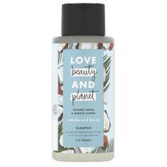 Love Beauty & Planet Szampon do włosów cienkich z wodą kokosową i kwiatami mimozy ( Volume and Bounty Shampoo) 400 ml