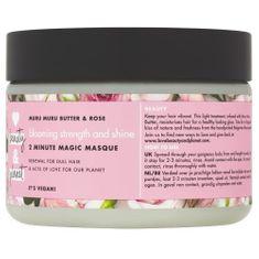 Love Beauty & Planet Maska na farbené vlasy s ružovým olejom a maslom muru muru (Blooming Strength and Shine 2 Minute Mag