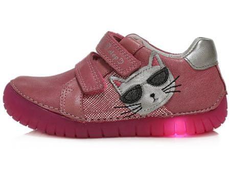 D D step lány világító cipő 050 17C, 30, rózsaszín | MALL.HU