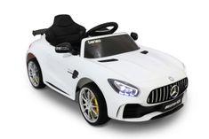 Beneo Elektrické autíčko Mercedes-Benz GTR, 12V, 2,4 GHz dialkové ovládanie, odpruženie, otváravé dvere, m