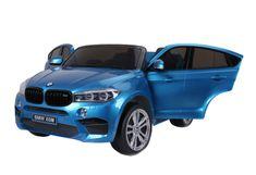 Beneo Elektrické autíčko BMW X6 M, 2 miestne, 2 x 120 W motor, 12V, elektrická brzda, 2,4 GHz dialkové
