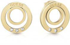 Guess Kruhové náušnice UBE29027