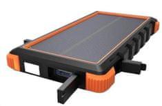 Viking Viking solární outdoorová powerbanka W10 10 000 mAh VSPW10R, červená