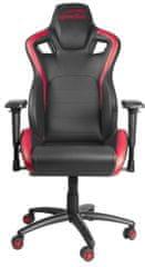 SPEED-LINK fotel gamingowy Tagos XL, czarny/czerwony (SL-660004-BKRD)
