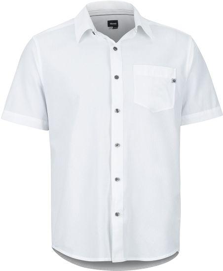 Marmot pánská košile Aerobora SS (42100-7384) S bílá