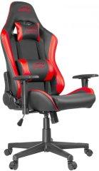 SPEED-LINK fotel gamingowy Xandor, czarny/czerwony (SL-660005-BKRD)