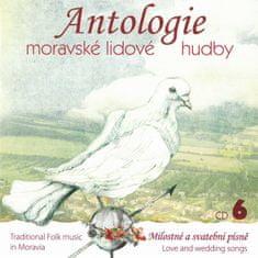 Antologie moravské lidové hudb: Antologie moravské lidové hudby - CD6 Svatební písně - CD
