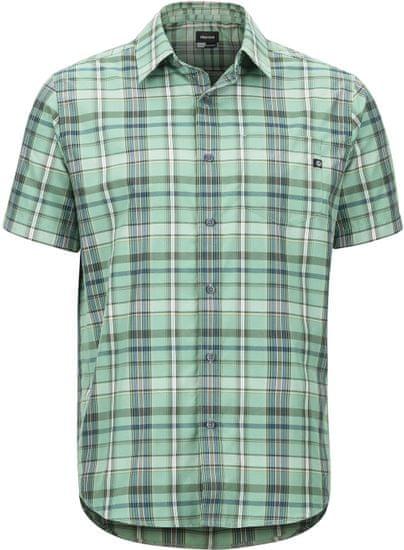 Marmot pánská košile Lykken SS (44060-4995) S zelená