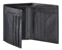 Samsonite Peněženka pánská Success 61U-09014 na výšku kožená bez kapsy na drobné černá