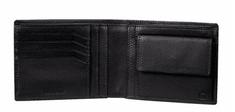 Samsonite Peněženka pánská NYX II SLG 59V-09006 na šířku kožená černá