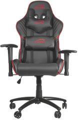 SPEED-LINK fotel gamingowy Zayne, czarny/czerwony (SL-660006-BKRD)