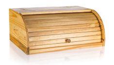Apetit lesena posoda za kruh, 40 × 27,5 × 16,5 cm