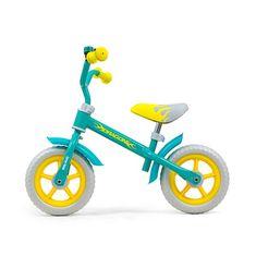 MILLY MALLY Detské odrážadlo bicykel Milly Mally Dragon Mint Zelená