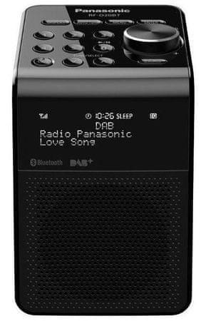 Panasonic RF-D20BTEG-K prenosni radio, črn