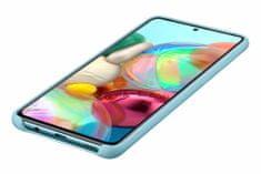 Samsung Galaxy A71 maska, silikonska, plava