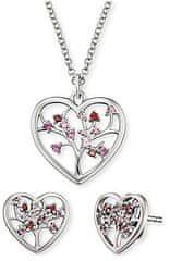 Engelsrufer Ezüst szívékszerkészlet ERO-BLOOM-01 ezüst 925/1000