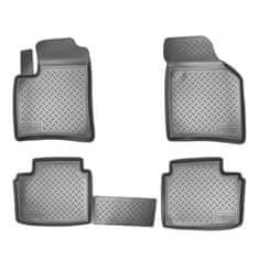 Norm Gumové koberce se zvýšeným okrajem Audi A3 8P 2003 - 2012 4ks
