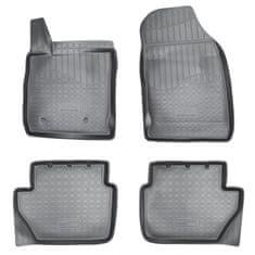 Norm Gumové rohože so zvýšeným okrajom Ford EcoSport 2014 -vyššie 4ks
