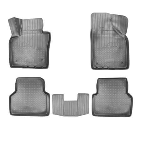 Norm NORM gumiszőnyeg Volkswagen Tiguan 2007-2015 4db