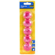 Magnety Idena, ružové, 5 ks