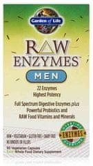 Garden of Life RAW Enzymy Men Digestive Health - pro muže - zdravé trávení 90kapslí