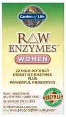 Garden of Life RAW Enzymy Women Digestive Health - pro ženy - zdravé trávení 90kapslí