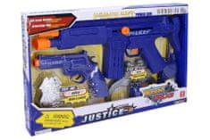 Wiky Policajný set Justice 6ks