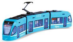 Rappa Moderní tramvaj DPO Ostrava modrá, 47 cm