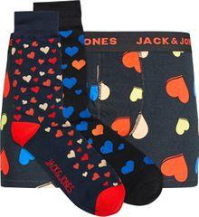 Jack&Jones AjándékcsomagJACVALNTINE GIFTBOX Black Navy blazer - Black