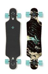 "Street Surfing longboard Freeride 39"" Curve Wolf-artist series"