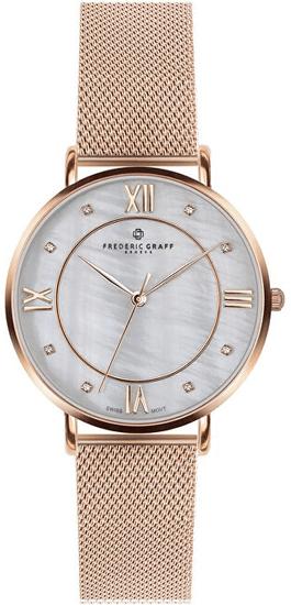 Frederic Graff Rose Liskamm Rose gold Mesh FAI-3218R