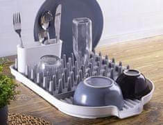 Blaumann Odkapávač na nádobí s držákem na příbory plast/silikon