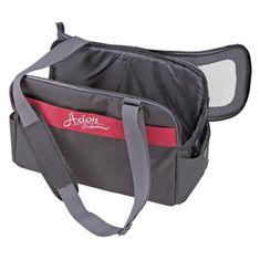Kerbl transportní taška Axion pro psy - černo/červená