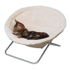 Kerbl spací hnízdo pro kočky, béžové, Ø58cm