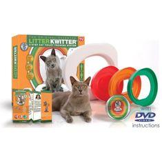 Litter Kwitter systém pro naučení koček používat záchod