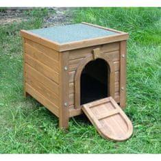 Kerbl menší dřevěná boudička pro hlodavce - 36 x 36 x 40 cm