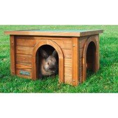 Kerbl domeček pro hlodavce se dvěma vstupy - 45x32x27 cm