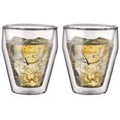 Bodum sklenice z dvojité skla, 0,25 l, 2 ks