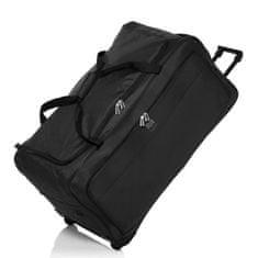 France Bag cestovní taška s koly 82 cm - černá
